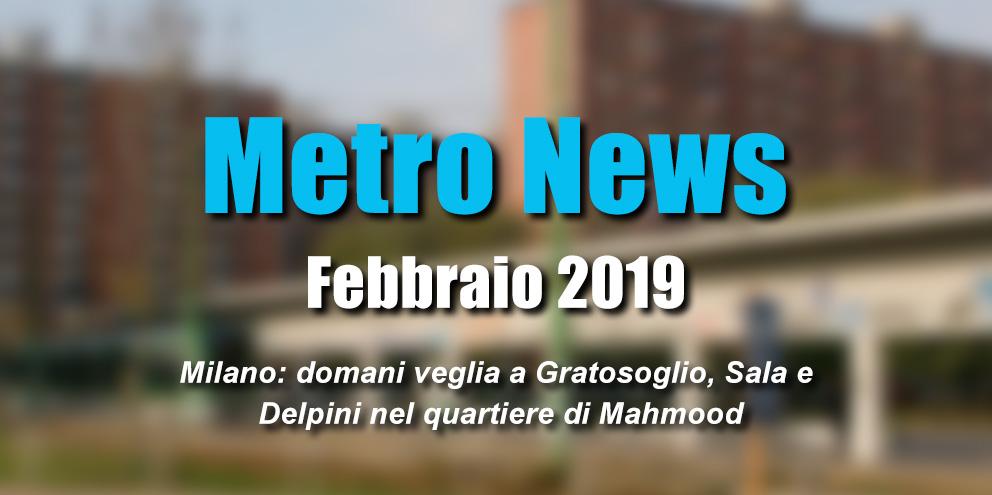 Metro News Febbraio 2019